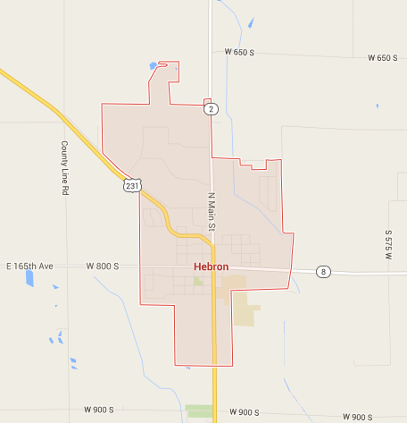 Hebron Indiana Map.Logging In Lake County Indiana